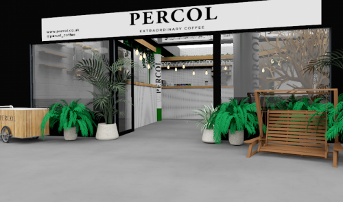 percol sustainable pop-up
